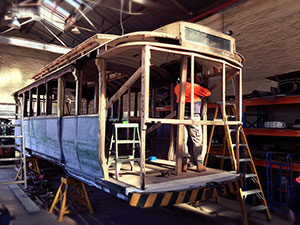 Bendigo Tramways Workshop