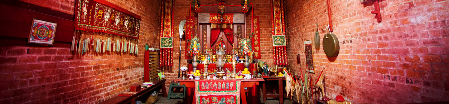 Bendigo Joss House Temple Main Altar