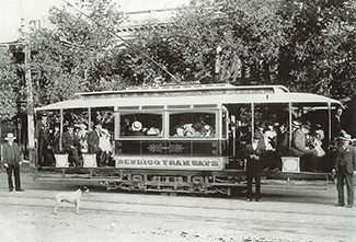 Bendigo Tramways 1903 Tram Trial