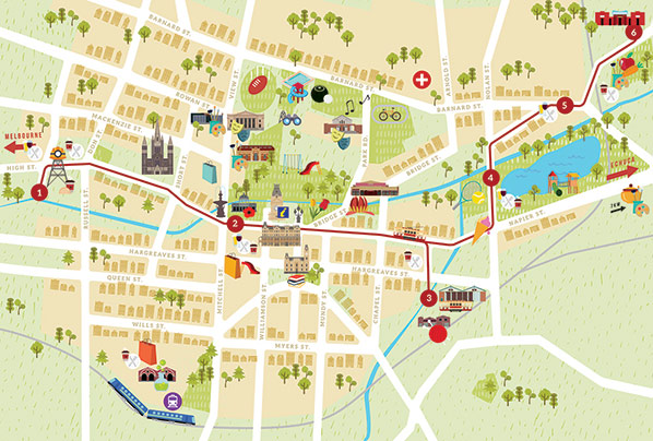 Interactive Map Bendigo
