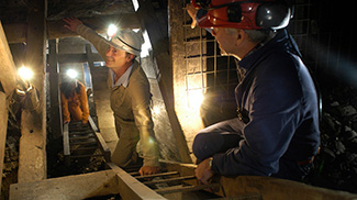 Underground Adventure Tour at Central Deborah Gold Mine