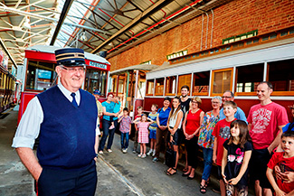Bendigo Tramways Depot and workshop Tour